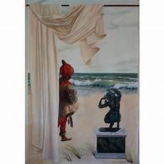 trompe l oeil peinture peinture murale trompe l oeil la sentinelle