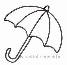 gratis malvorlagen regenschirm zum ausdrucken bastelideen info kostenlose bastelvorlage regenschirm