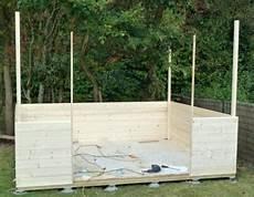 fabriquer un abri bois soi meme abri de jardin bois a faire soi meme
