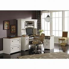 white home office furniture collections bush furniture fairview l shaped desk antique white tea