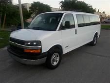 Buy Used 2006 Chevrolet Express 3500 LT Extended Passenger