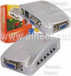 Harga Converter Vga To Rca jual konverter vga input to rca s output