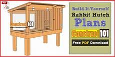 rabbit hutch plan diy projects wikidiy org