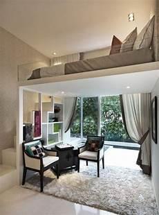 Die Kleine Wohnung Einrichten Mit Hochhbett One Bedroom