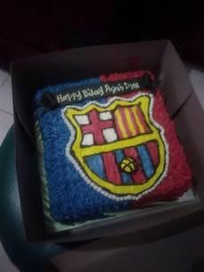 Kue Ulang Tahun Gambar Klub Sepak Bola Toko Kue Barka