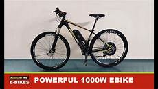 E Bike 1000 Watt 48 Volt Conversion Kit Fast