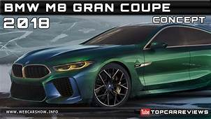 2018 BMW M8 GRAN COUPE CONCEPT Review Rendered Price Specs