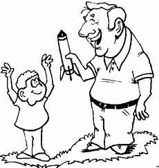 mann mit rakete ausmalbild malvorlage kinder