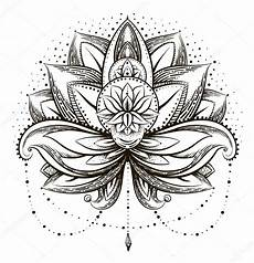 disegni fiore di loto vectores ornamentales lotus vector de stock 169 mamziolzi