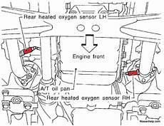 motor repair manual 1999 infiniti qx parental controls 1997 2003 infiniti qx4 o2 sensor location infinitihelp com
