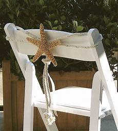 chair decoration for beach wedding do it yourself