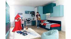 chambre d ado avec lit canape modulable compact