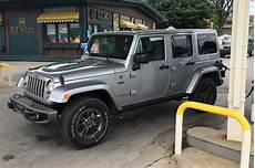 one week with 2016 jeep wrangler unlimited 4x4 75th