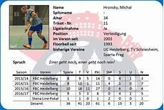 Mannschaftskader 2017 18 Floorball Heidelbergs Webseite