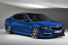 Skoda Superb Rs Front By Unlimited Concept On Deviantart