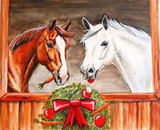 horses of course card design issued