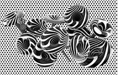 Tapete Schwarz Weiß Muster - design tapeten rasch benesch schwarz weiss kaufen