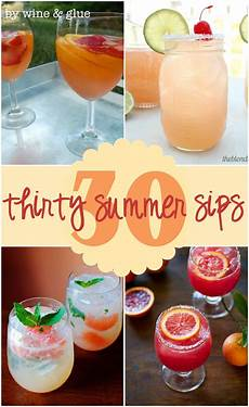 30 delicious summer cocktails wine glue