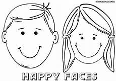 colouring pages of s faces 17844 coloring page coloring home