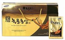 daewoong deer antlers red ginseng extract 70ml 215 30 in