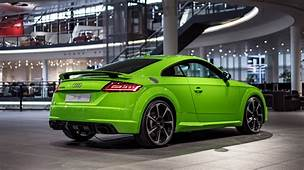2017 Audi TT RS In Lime Green Looks Like A Tiny Exotic Car