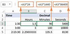 decimal exles worksheet 7120 excel convert time to decimal number hours minutes or seconds