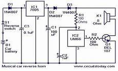 Musical Car Horn Circuit Todays Circuits