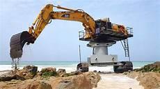extreme dangerous excavator heavy equipment operator skill