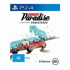 burnout paradise ps4 burnout paradise remastered ps4 target australia
