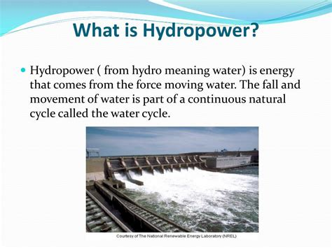 Hydel Power Meaning