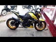 Yamaha Xabre Modif by Yamaha Xabre 150 Yellow Modifikasi Smnp