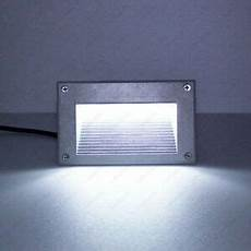 3w led outdoor wall spot light decor recessed steps l mounting box s cottage ebay