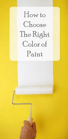 choosing the right paint color