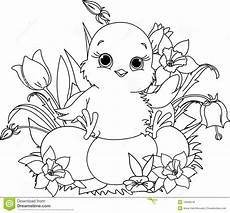 Oster Malvorlagen Xl Happy Easter Coloring Page Stock Vector