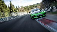 new 911 gt3 rs sets a time of 6 56 4 minutes through