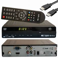 Receiver Hd - mk digital hd 61se usb mediaplayer hdmi scart hdtv