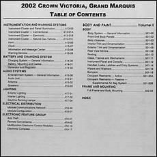 car repair manuals online free 2002 ford crown victoria free book repair manuals 2002 ford crown victoria and mercury grand marquis repair shop manual set