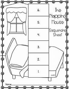 the napping house lesson plans the napping house retelling pack the napping house