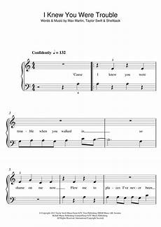 i knew you were trouble sheet music by 5
