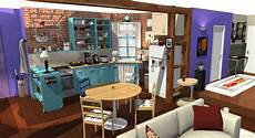 Friends Wohnung by Friends Tv Show Apartment In 3d Homebyme