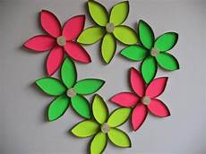 Klopapierrollen Basteln Blume - items similar to recycle wall flower upcycled toilet