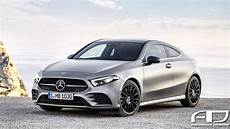 2019 Mercedes A Class Coupe And A45 Hatchback Rendered