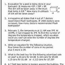 math word problems worksheets grade 2 11276 worksheet level 2 writing linear equations answers briefencounters