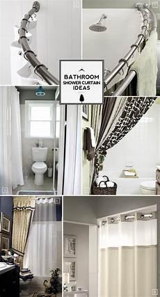 curtain ideas for bathroom bathroom shower curtain ideas from space saving to