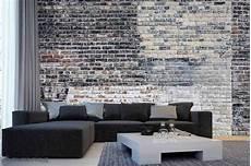 Vieux Mur De Briques Multicolores 12 X 8 3 66m X 2 44m