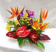 centre de table tropical exotique d 233 co mariage exotique