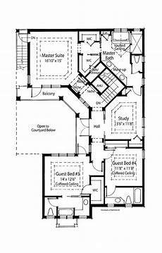 pool room mediterranean house plans spanish l shaped with