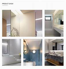 luckyled 7w led mirror light with switch wall mounted bathroom l ac110 220v stainless steel