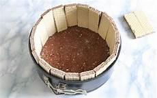 torta con i wafer ricetta torta senza cottura ai wafer agrodolce