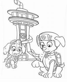 paw patrol coloring lesson coloring page